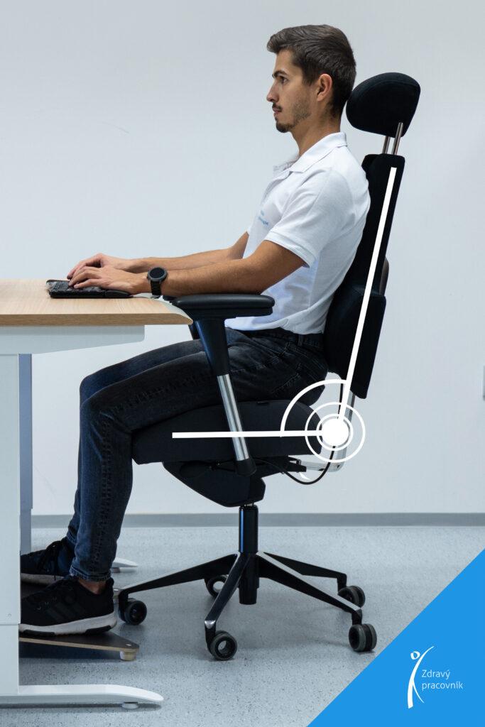 Výběr židle na míru – ONLINE